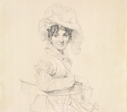 Portrait of the Countess Amédée de Pastoret