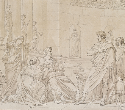 The Clemency of Augustus, or Augustus and Cinna