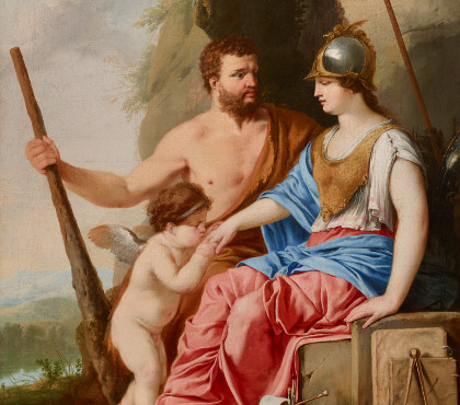 Hercules and Athena