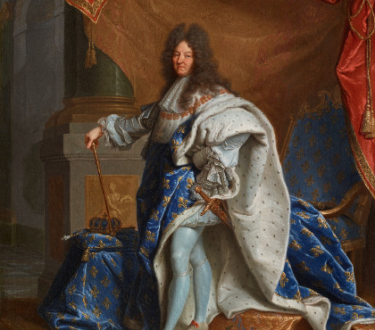 Louis XIV in sacred costume
